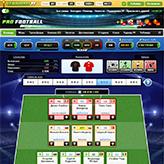 Скриншот игры Pro Football - Футбольный менеджер